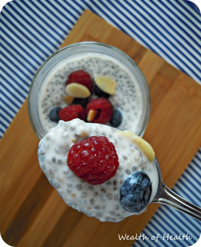 Chia seed pudding 4