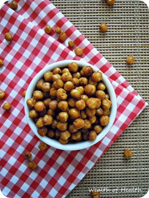 Roasted chickpeas 1