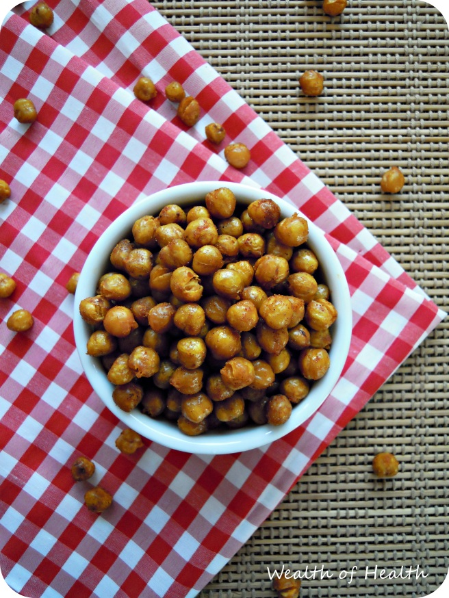 Roasted chickpeas 1