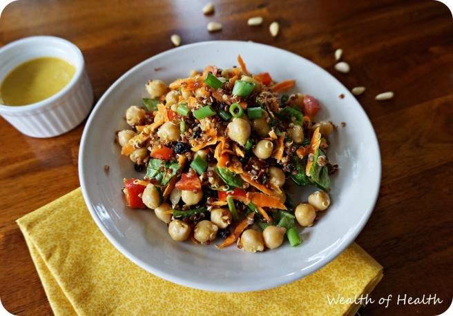 moroccan quinoa salad 3